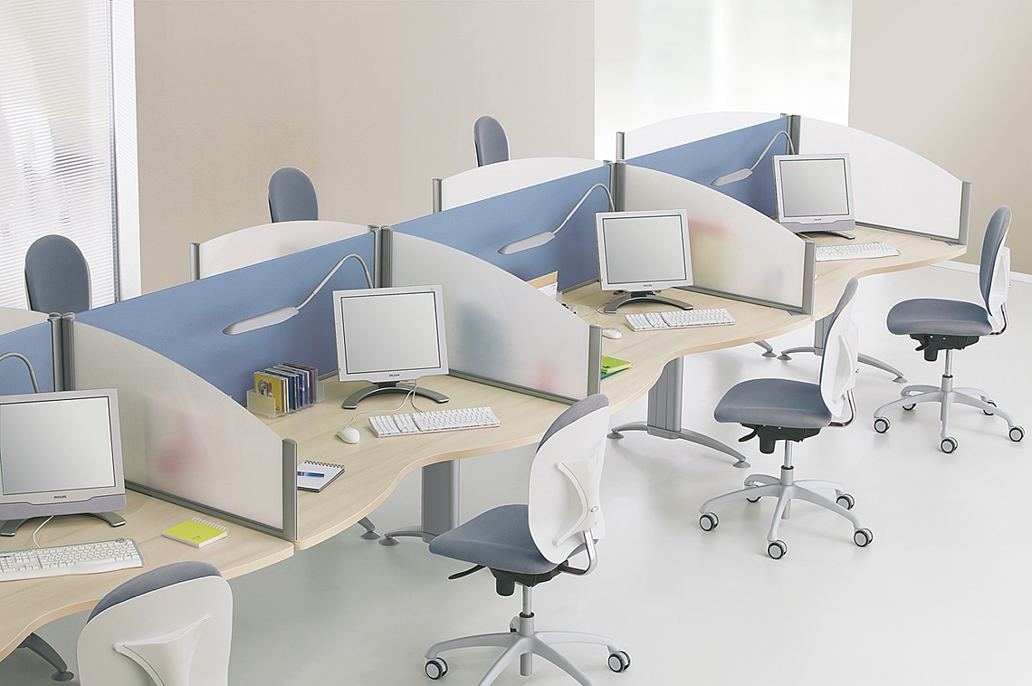 Cloison open space mobilier de bureau short
