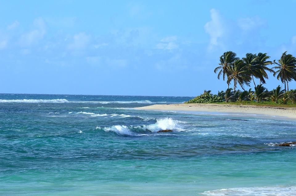 Plage des Alizés en Guadeloupe